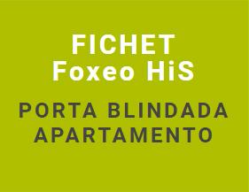 Porta blindada de alta segurança Fichet Foxeo HiS